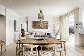 outstanding beach house dining table room style with wood mediterranean timber tile chair idea chandelier set