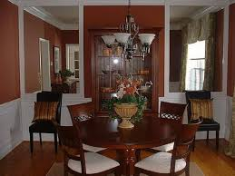 formal dining room design with wood