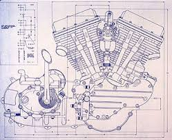 knucklehead harley engine drawing blueprint motorcycles knucklehead harley engine drawing blueprint motorcycles engine boat lights and honda cb750