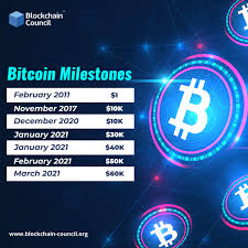 Its highest price for the year was just $0.39! Bitcoin Journey From 1 To Over 60000