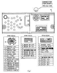 2001 mazda tribute radio wiring diagram dolgular com