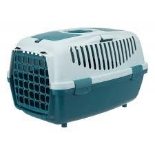 Light Blue Dog Crate Trixie Capri Pet Carrier Petrol Light Petrol