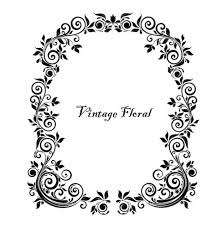 antique picture frames vector. Vintage Floral Frame Vector | Free Graphics All Web Resources For Designer - Design Hot! Antique Picture Frames