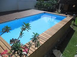 Pooldeck on INTEX Above Ground Swimming Pool 24x12x52 the fresh
