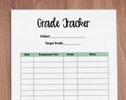 Student Grade Tracker Excel Grade Tracker Template Templates Data