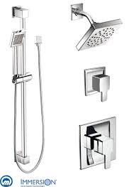 825 in chrome by moen rainfall shower diverter