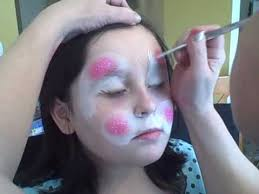 Small Picture Easter Bunny Face Painting Tutorial Curlies Face Art Michigan