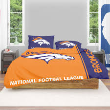 nfl denver broncos bedding comforter set