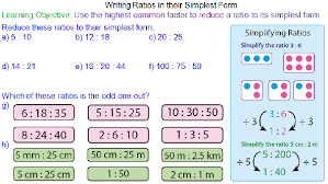ratios in fraction form writing ratios in their simplest form mr mathematics com