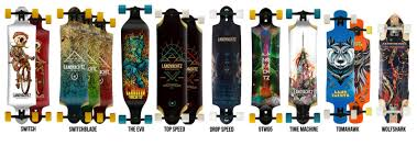 Landyachtz Designs Landyachtz Longboards Freeride Downhill Series Design