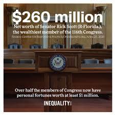 net worth of Sen. Rick Scott ...