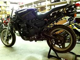 kawasaki ninja ex 500 adventure bike