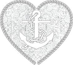 anchor coloring page plus anchors and ships wheels x pictures of pixe anchor coloring page