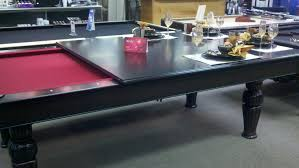 pool table dining tables: pool dining tables with contemporary folding ceramic top design