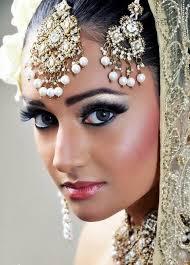 bridal makeup blue silver