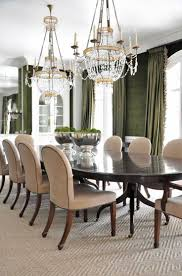 chandelier over dining table elegant double chandeliers dining room