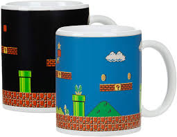 The mug is stainless steel and keeps coffee warm for hours. Amazon Com Paladone Super Mario Brothers Heat Changing Ceramic Coffee Mug Collectors Edition Toys Games