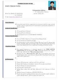 CURRICULUM VITAE RISHU PRASAD PATEL Correspondence Address :- Vill.