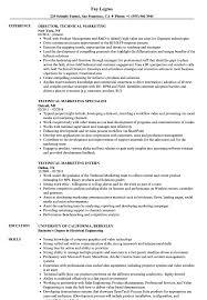 Technical Skills On A Resumes Technical Marketing Resume Samples Velvet Jobs