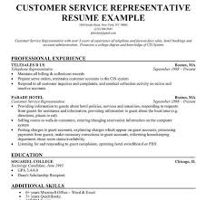 Customer Service Representative Resume Samples Best Of Download Sample Resume Skills For Customer Service DiplomaticRegatta