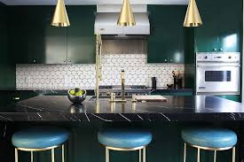 full size of kitchen black marble contertop brass gold pendant lights blue backless bar stools