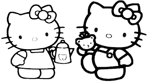 Immagini Da Scaricare Di Hello Kitty Az Colorare