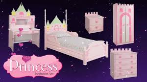 princess bedroom furniture. Princess Castle Theme Bed/Bedroom Furniture For Kids Children From Little Devils Direct - YouTube Bedroom M
