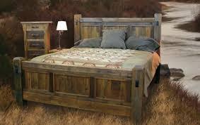 Handcrafted Reclaimed Wood Bed and Bedroom Furnture | Bedroom in ...