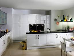 image of modern white shaker kitchen cabinets designs ideas