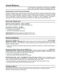 Free Student Resume Builder Resume For Nursing Student Nursing