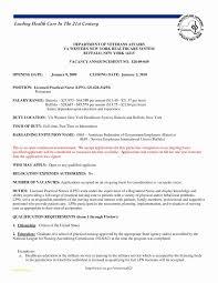 Sample Lpn Nursing Resume With Lvn Resume Sample Fresh 25 New Nurse