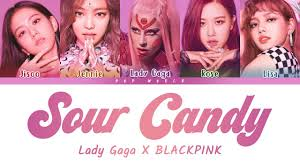 Lady Gaga & BLACKPINK – Sour <b>Candy</b> (<b>Color</b> Coded Lyrics ...