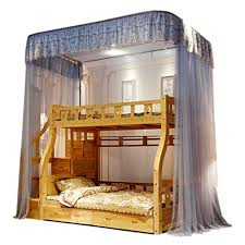 Liudan-Bed Canopies & Drapes Mosquito Net Creative Double-Layer ...
