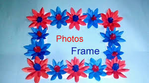 photo frame idea using crafts paper how to make photos frame diy handmade photo frame idea at home 2