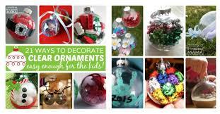 Decorating Christmas Ornaments Balls 100 Homemade Christmas Ornaments Using Clear Ball Ornaments 53
