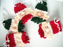 Santa's Helpers Gift Pouches crochet pattern