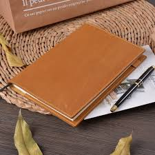 ซ อท ไหน moterm vintage leather notebook planner book cover a5 a6 for md hobonichi cousin original bullet journal drawing sketchbook ในประเทศไทย