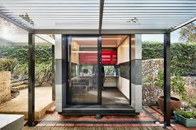home office pod. Harwyn Modular Office Pod, Jason Fremder, Australia, Metallic Alucobond ACM Home Pod E