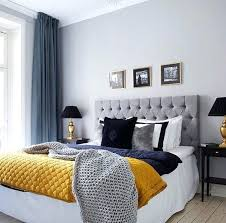 Delightful Navy And Grey Bedroom I Love This For Either The Master Bedroom Or The  Guest Bedroom Grey And Blue Decor With Pop Of Color Bedroom Decor  Inspiration Navy ...