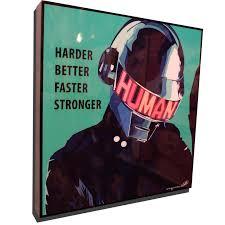 Daft Punk Pop Art Poster