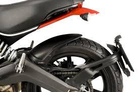 puig rear hugger for ducati scrambler flat track pro year 2016