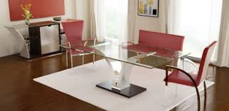 Modern Glass Dining Table Dining Room Contemporary Round Glass Dining Table Glass Round