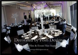 black round table cloths for hire