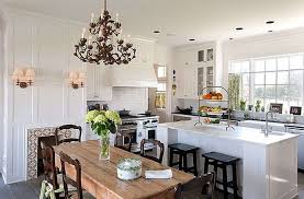 decorations best scandinavian style interior dining room with bronze antique chandelier and rectangle brown wood