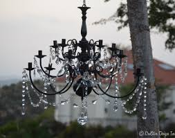 black chandelier painted brass chandelier makeover cre8tive designs inc model 7