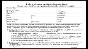 florida wind mitigation inspection form wind mitigation in florida what you should know youtube
