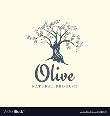 Template Tree Olive Tree Logo Design Template For Oil