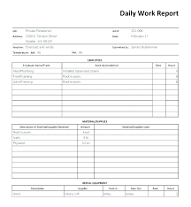Construction Daily Report Template Word Shootfrank Co