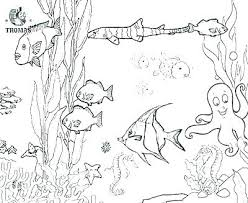 Ocean Waves Coloring Pages For Adults Scene Page Free Printables