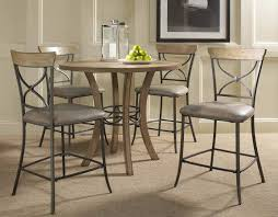 hilale charleston round counter height dining table